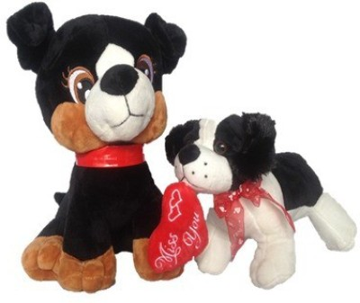 Chinmayi High Quality Cat And Dog Combo  - 30 cm