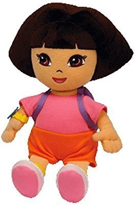 Dora the Explorer Ty Beanie Ba (Styles And Colors May Vary)