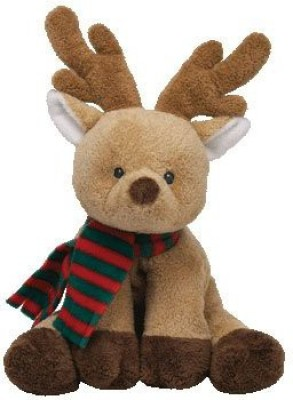 Ty Pluffies Snuggery The Reindeer (Barnes & Noble Exclusive)
