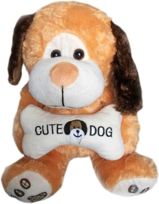Vidya Ventures Cute Dog Teddy  - 35 cm