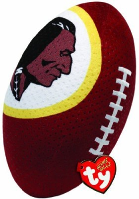 TY Beanie Babies Nfl Rz Washington Redskins Football Plush