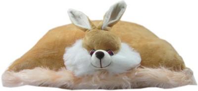 Advance Hotline Stuffed rabbit pilow shaped toy  - 32 cm(Brown)