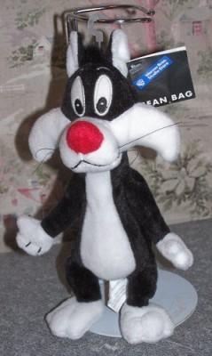 Warner Bros. Bean Bag Sylvester The Cat