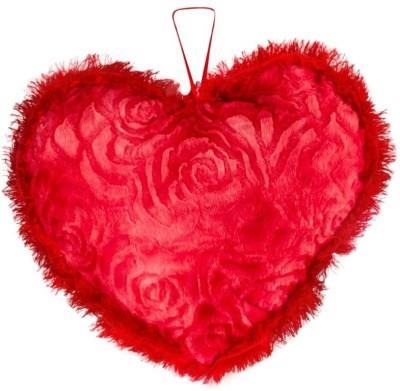 Ganpati Traders Furry Love Heart  - 11 inch