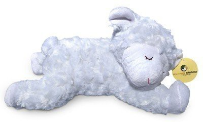 downright solutions Soft Cuddly Plush Sleeping Lamb Animal Excellent Gift Item