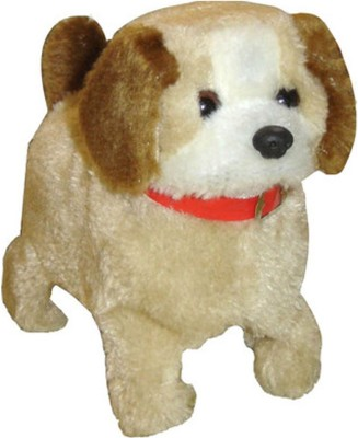 SHREE JI ENTERPRISES Fantastic Puppy Battery Operated Jumping Dog Run Jump  - 16 cm