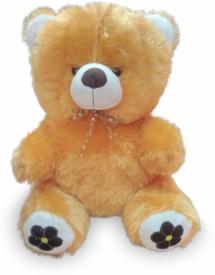 Cuddles Lovely looking Teddy Bear - 40 cm(Brown)
