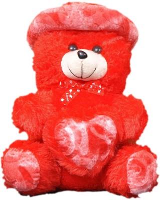 VRV Soft Toys Red Teddy Bear  - 25 cm
