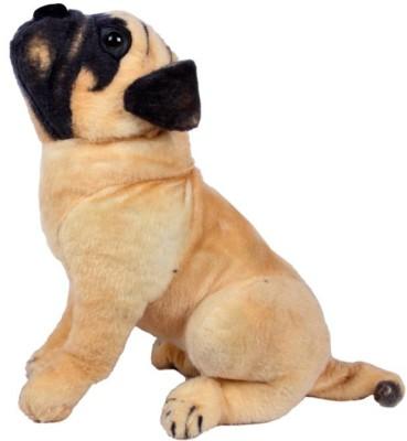 Unica Stuffed Soft Toy Pug Dog  - 14 inch