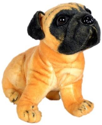 Deals India Pug Dog Stuffed Animal  - 40 cm(Brown)