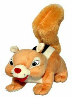 meghanshi soft brown squirell 26 cm - 15 cm(brown)