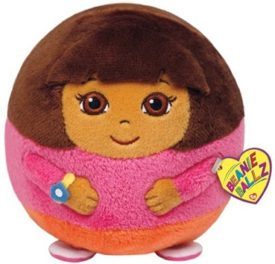 Dora the Explorer Ty Beanie Ballz Dora Plush Large