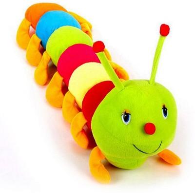 Arthr Beautiful Cute Colorful Caterpillar Soft Toy  - 55 cm