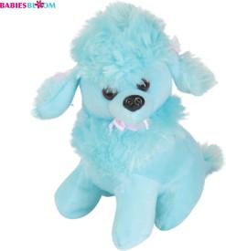 Babies Bloom Candy Blue Kawaii Poodle Dog Puppy Stuffed Plush Dog Toy - 20 cm(Blue)