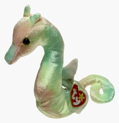 Beanie Babies Ty Beanie Babies - Neon the Ty-Dyed Seahorse  - 20 inch