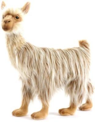 Hansa 17 Bull Llama Plush(Brown)
