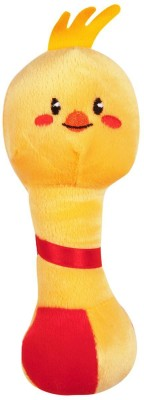 First Step Baby Shaking Rattle - Yellow Teddy  - 38 inch
