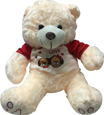 Priyankish Lovely Cream Teddy Soft Toy Gift Set