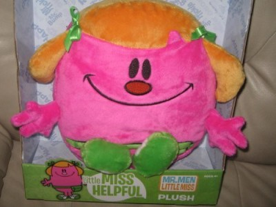 Think Wow Toys Mr Men Little Miss/ Little Miss Helpful 10In Plush