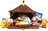 Tailcor Plush Nativity 11 Piece Play Set...