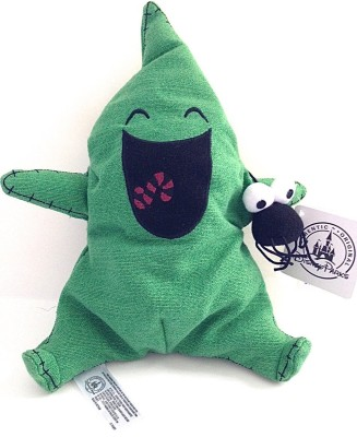 Disney Parks Nightmare Before Christmas Oogie Boogie Itty Bitty Plush Doll  - 10 inch