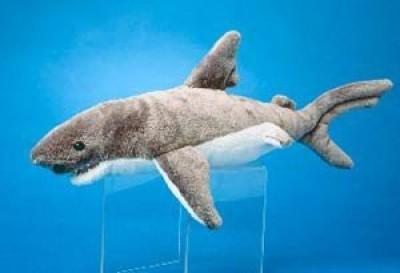Douglas Cuddle Toys Smiley Shark  - 25 inch
