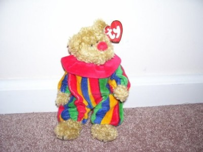 TY Beanie Babies 1 X Attic Treasures Piccadilly Bear