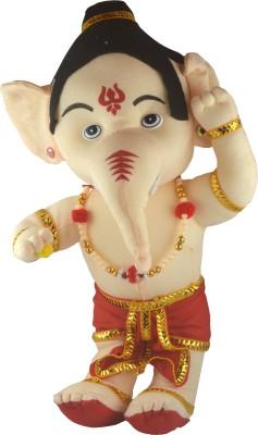 Shop4everything Ganesh Ji with Soft Cotton  - 38 cm