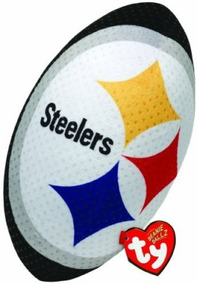 TY Beanie Babies Nfl Rz Pittsburgh Steelers Football Plush