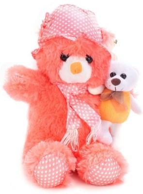 Tickles Cap Teddy with Kid  - 45 cm