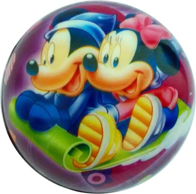 Lolprint 03 Mickey Mouse Soft Ball  - 4 inch