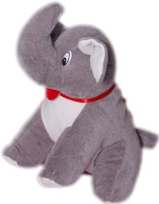 VRV Soft Grey Elephant Toy  - 18 cm