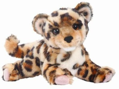 Douglas Cuddle Toys Spatter Leopard Cub