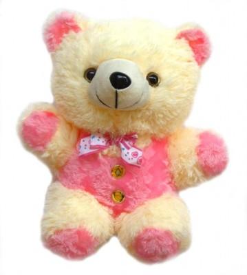 Nb Phoenix Stuffed Soft Plush Toy Kids Birthday Teddy Pink (Pink/Cream) 21 Cm  - 21 cm