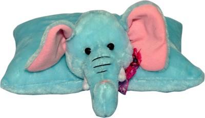 Joey Toys Lovely Elephant Cushion  - 7 inch