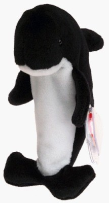 TY Beanie Babies Waves The Whale