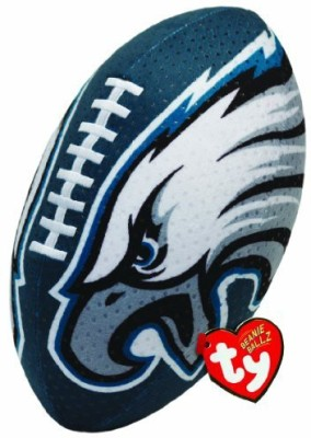TY Beanie Babies Nfl Rz Philadelphia Eagles Football Plush