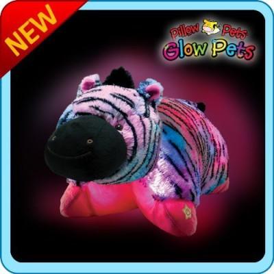 Ontel Pillow Pets Glow Pets - Zebra 12