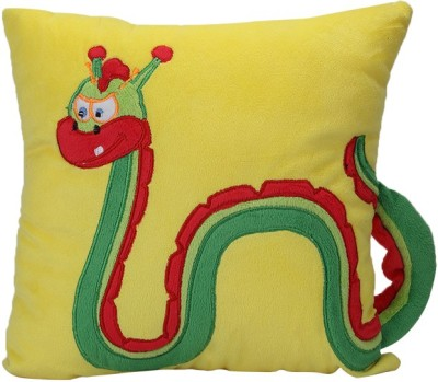 Imagica Lochness Stuffed Cushion with Loop  - 11.5 inch(Yellow)