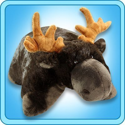 Pillow Pets My Chocolate Moose - Large (Brown)  - 24 inch