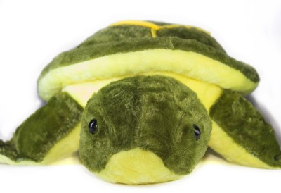 Tiny Tickle Cute and Soft Lovely Tortoise Premium soft Toy (Green & Yellow)  - 48 cm
