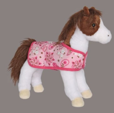 Douglas Cuddle Toys Daphne Pinot Horse With Blanket 105