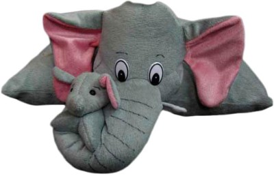 Deals India Deals India Folding Elephant Pillow  - 10 cm