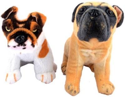 Atc Toys Stuffed Dog Combo Of 2 - 32 Cm  - 32 cm