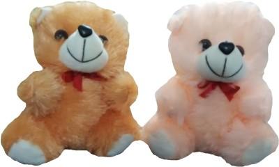 Ekku Combo of Brown and Beige Teddy  - 7 inch