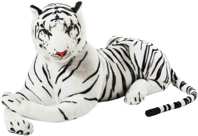 VRV Soft Toy Wild White Tiger 39cm  - 20 cm