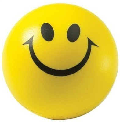 Options Smiley Stress Ball  - 3 inch