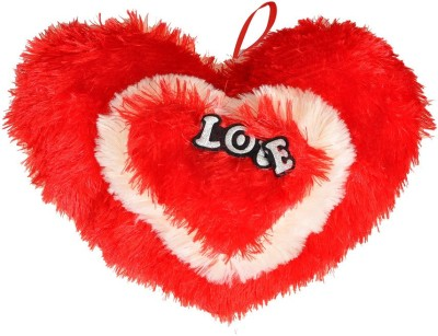 NRN TOYS Soft Heart Cushion for Gifting  - 25.4