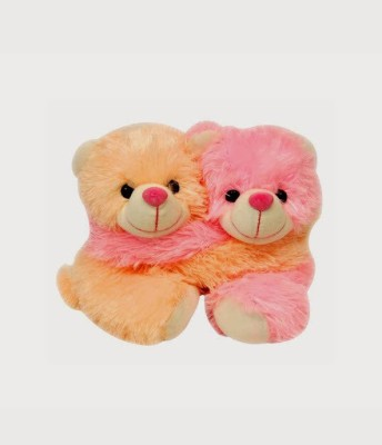My Dress My Style Cute Teddy Bear Couple  - 7 inch