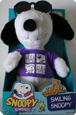 Hasbro Snoopy & Friends Smiling Snoopy Plush